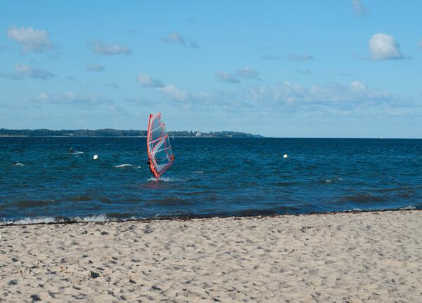 Surfer Eckernfoerder Bucht