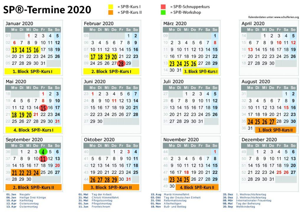 Termine für 2020